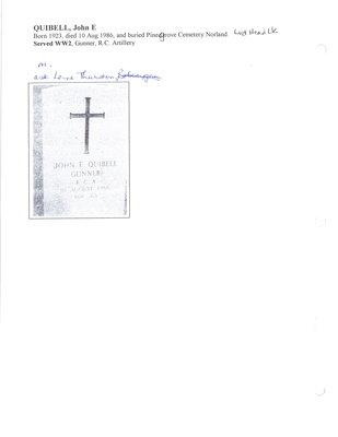 Page 300: Quibell, John E.
