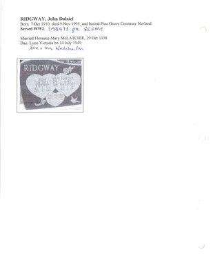 Page 304: Ridgway, John Dalziel