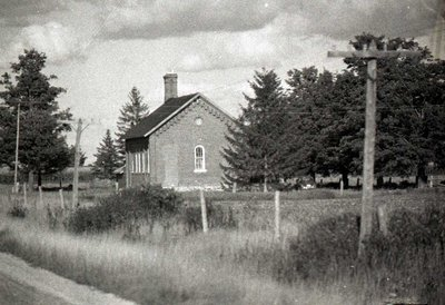 School house, unknown location