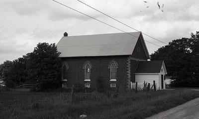 Church, Hartley, Eldon township