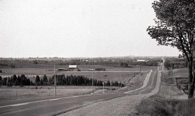 Field, Road; Unknown Location