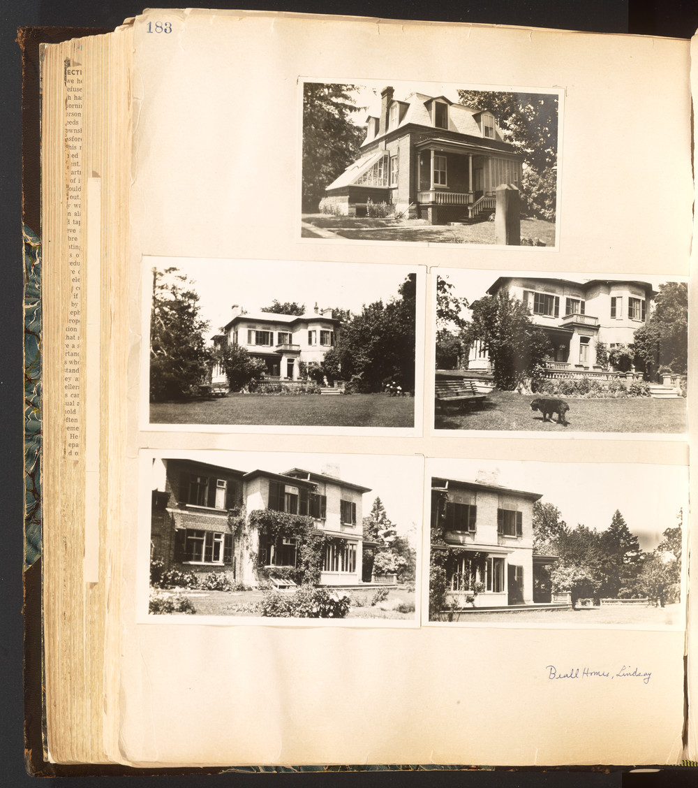 p. 183 Beall Family Scrapbook Volume 2 - part 3