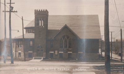 Queen St. United Church Lindsay.