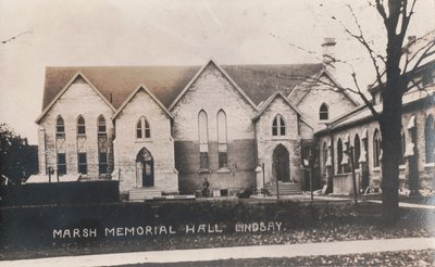 Marsh Memorial Hall, Lindsay