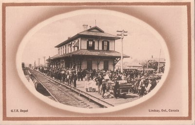 G.T.R. Depot, Lindsay, Ont., Canada