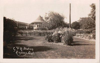 C.P.R. Station, Lindsay, Ont.