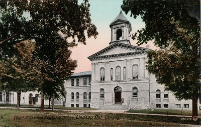 Courthouse and Registry Office, Lindsay, Ont., Canada