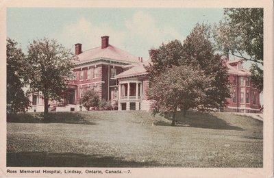 Ross Memorial Hospital, Lindsay, Ontario, Canada