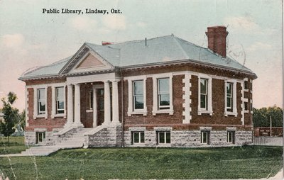 Public Library, Lindsay, Ont.