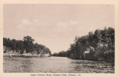 Upper Fenelon River, Fenelon Falls, Ontario.