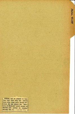 Pages 157-158: Cote, Cliff