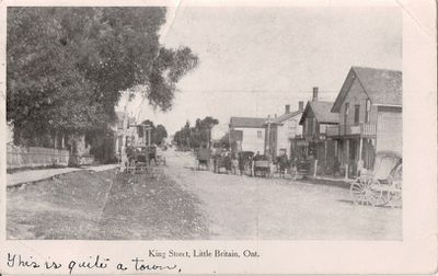 King Street, Little Britain, Ont.