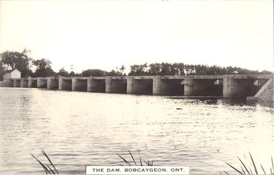 The Dam, Bobcaygeon, Ont.