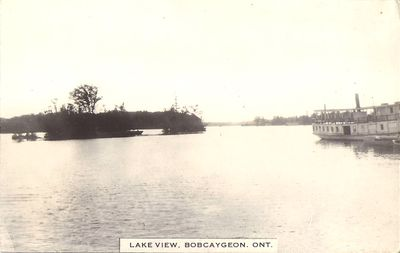 Lake view, Bobcaygeon, Ont.