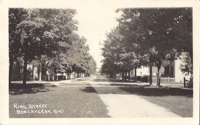 King Street, Bobcaygeon, Ont.