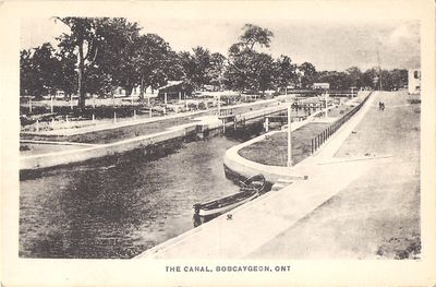 The Canal, Bobcaygeon, Ont.