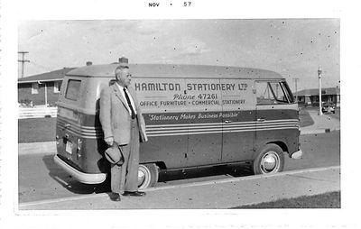 Bruce Hamilton, Edmonton, 1957