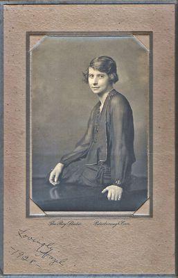 Hazel Agnes Hamilton, 1928