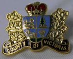 Artifacts of Victoria County: Township Insignia