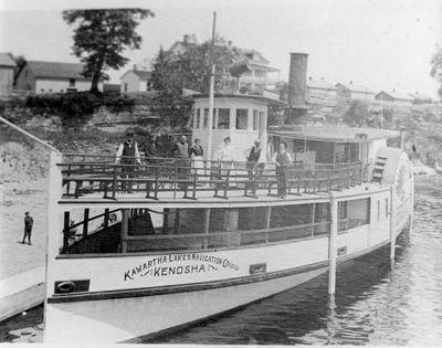 Kenosha docked at Fenelon Falls