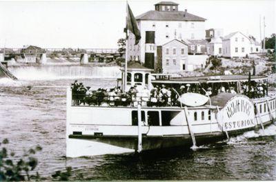 Esturion at Fenelon Falls