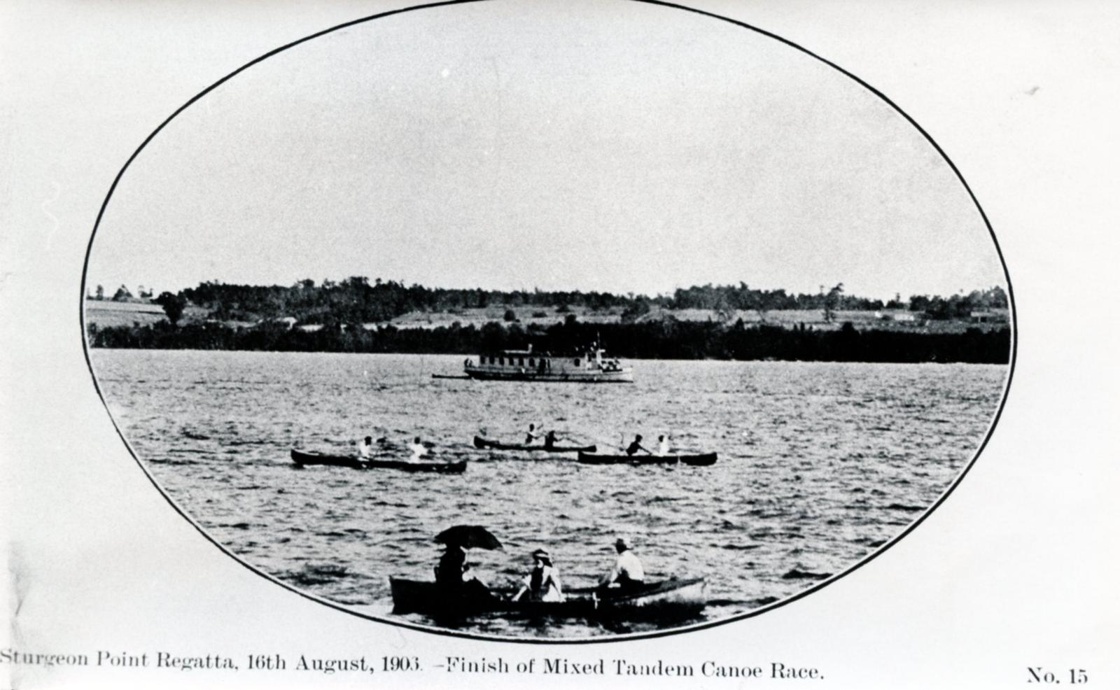 Sturgeon Point Regatta, 1906