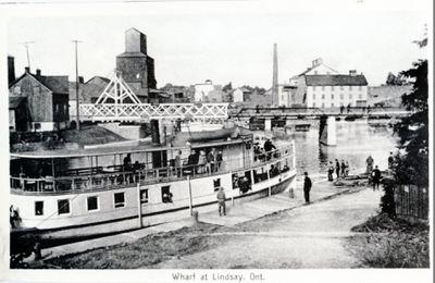 Wharf at Lindsay, Ont.