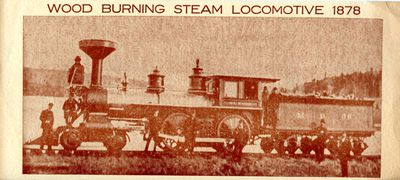 Historic Railway Locomotive Dedication Invitation