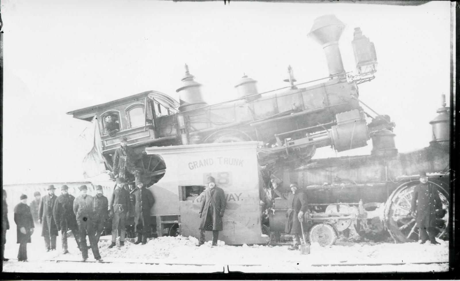 Grand Trunk 18 Railway Engine