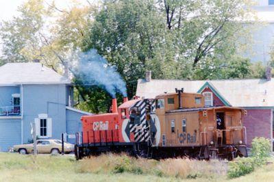 C.P. Rail Engine
