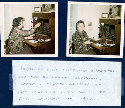 page 22 - Mabel Patrick - Telephone Operator