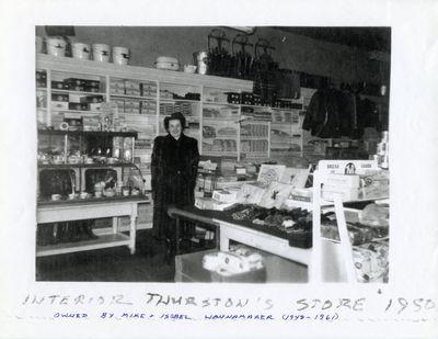 page 47 - Interior Thurston's Store
