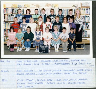 page 75 - Dunsford District Elementary 1994-95 Gr 2&3