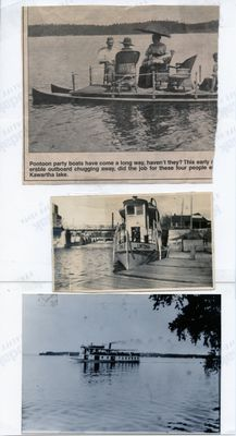 page 96 - Lintonia and pontoon boat