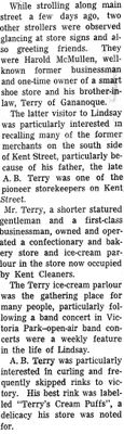 On the Main Street - 3 Nov 1965