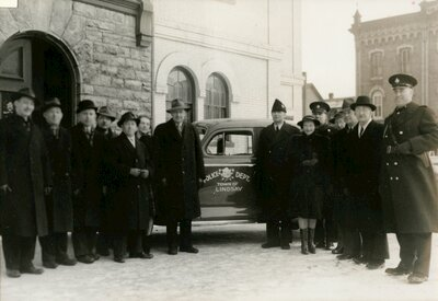 First Police Car, 1942