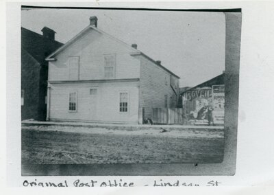 Original Lindsay Post Office