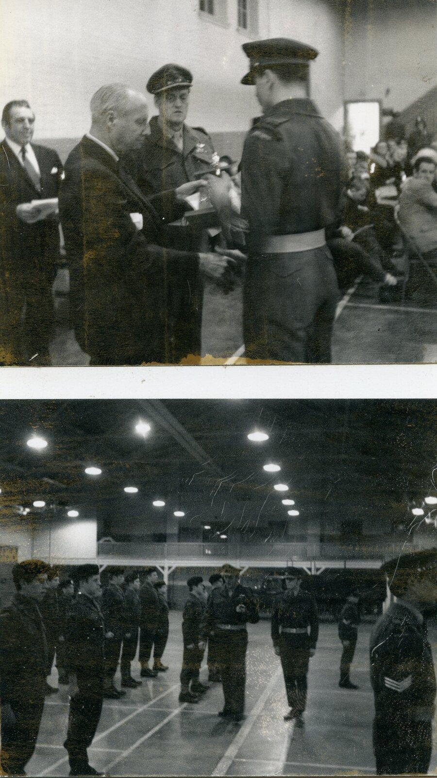 Bill Scott Ceremony at Armories