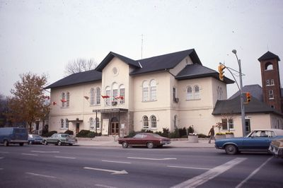 Lindsay Town Hall, Kent Street