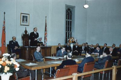 Lindsay Council Chamber