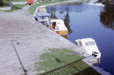 Boats at McDonnell Park, Lindsay