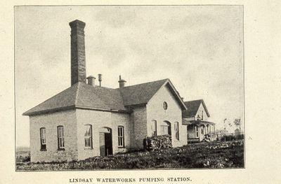 Lindsay Water Works 1898