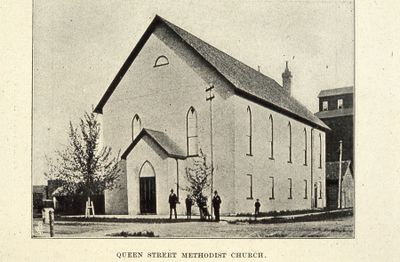 Queen Street Methodist Church 1898