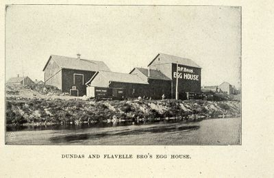 Dundas and Flavelle Egg House 1898