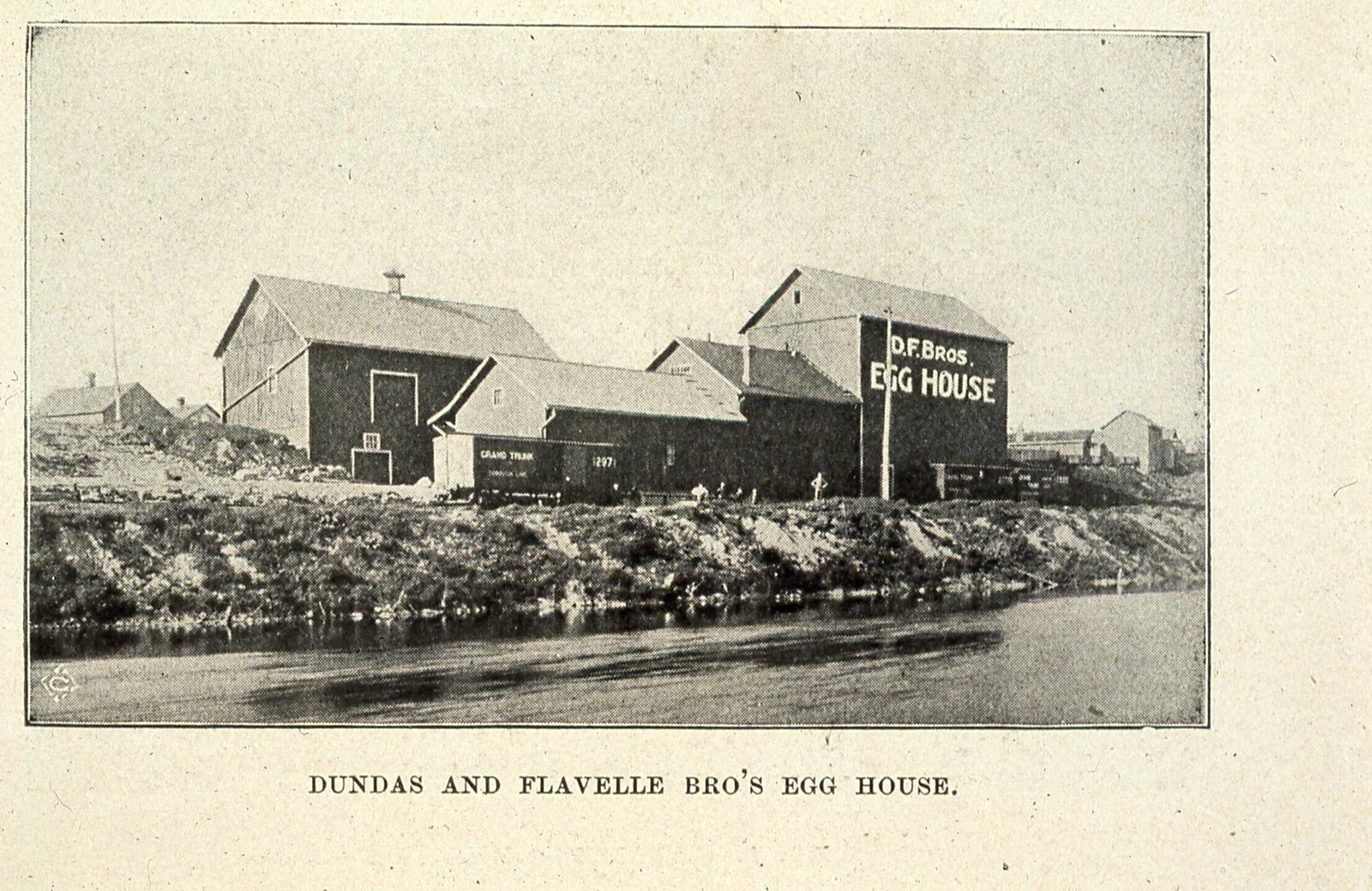 Dundas and Flavelle Egg House 1898