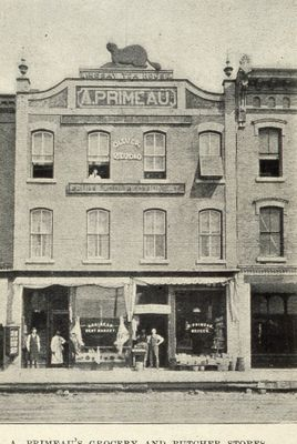 A. Primeau's Grocery and Butcher store