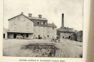 Dundas and Flavelle Flour Mill 1898