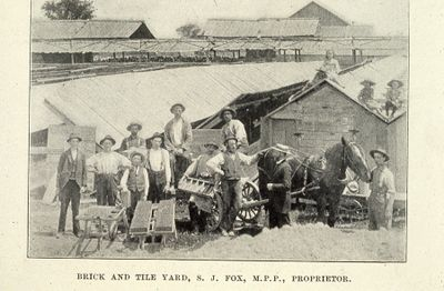 S.J. Fox Brick and Tile Yard 1898