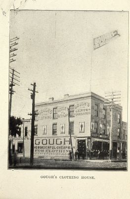 Gough's Clothing Store 1898