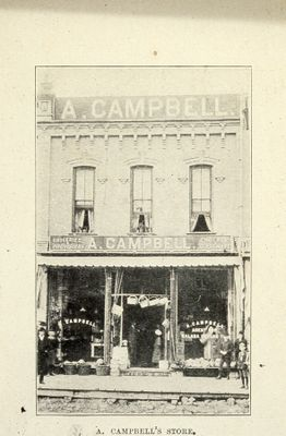 A. Campbell's Store 1898